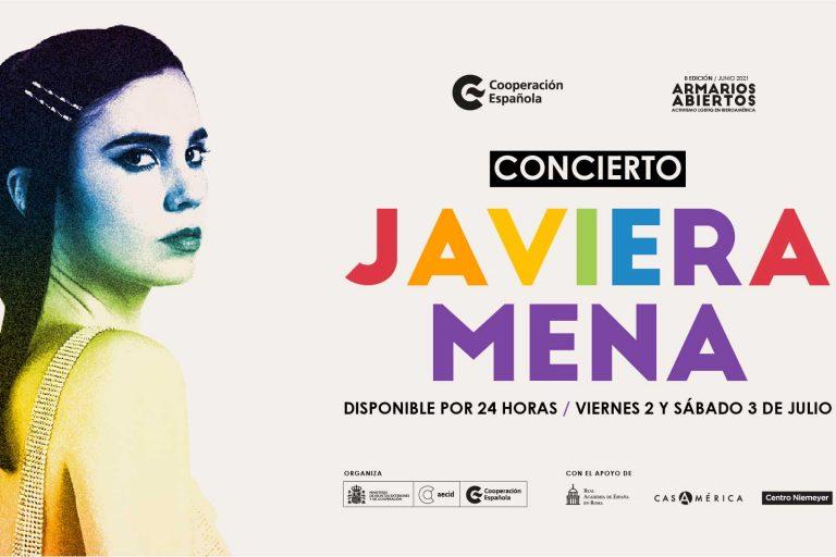 Javiera Mena ofrecerá show virtual gratis en el marco de «Armarios Abiertos Activismo LGBTIQ+ en Iberoamérica»