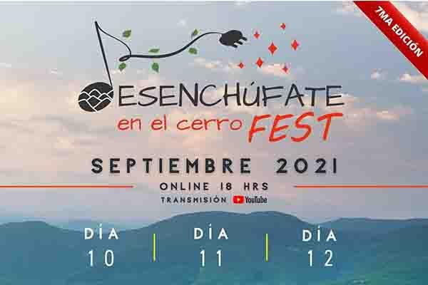 Desde Los Psiconautas hasta Golosa La Orquesta: Revisa el potente cartel de artistas de «Desenchúfate en el Cerro Fest»